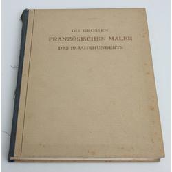 Karl Scheffler,  Die grossen französischen Maler des 19. Jahrhunderts