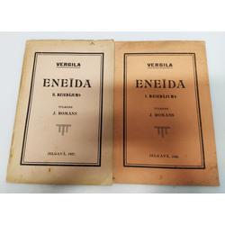 Vergila, Eneīda(I.-II.dziedājums)