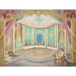 Dekorāciju mets teātra izrādei