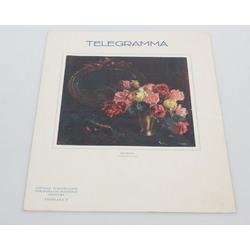Telegramma ar I. Rozenfeldes vāka gleznojumu