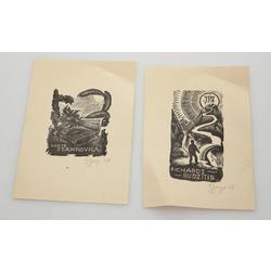 2 ex-libris