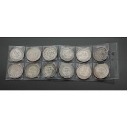Monētu komplekts 2 lati (12 gab.)