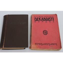 2 grāmatas - Druvā un karā(romāns), Dekabristi(romāns)