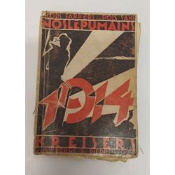 Klods Farrērs un Pols Šaks, Noslēpumainais kreisers 1914
