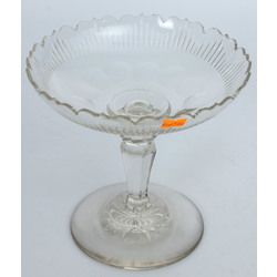 Crystal serving dishes (2 pcs.)