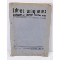 Latviešu pantogrammas