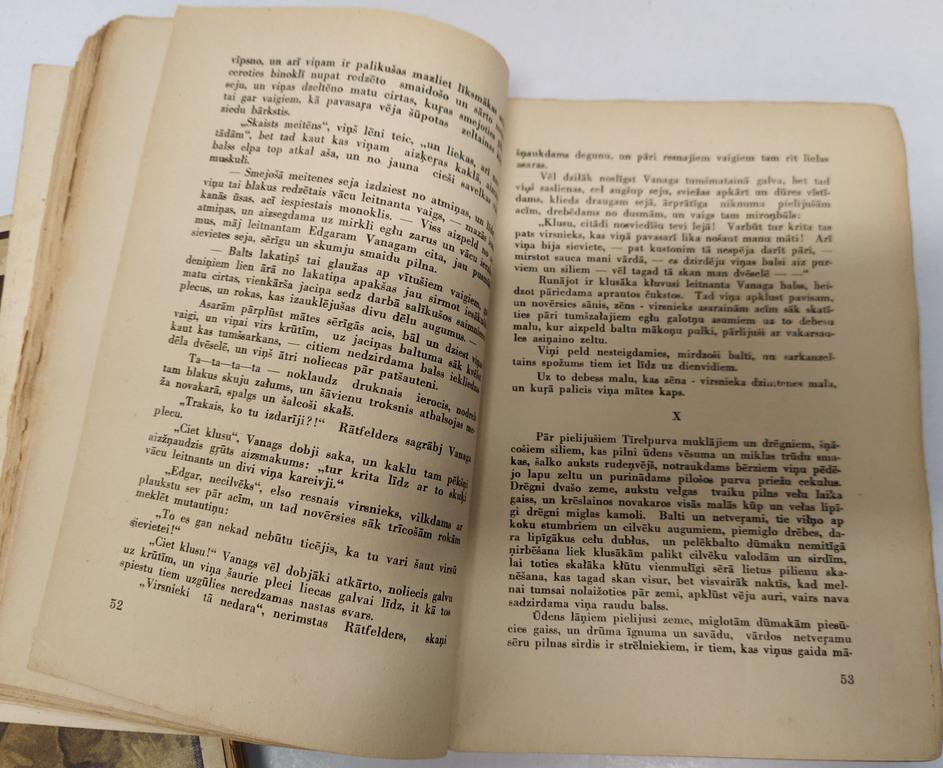 Aleksandrs Grīns, Dvēseļu putenis(I.-III.daļa)