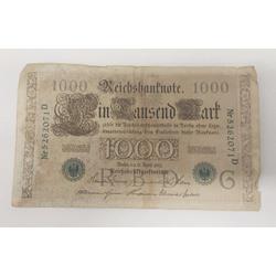 1000 reiha markas 1910