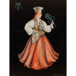 Latviešu tautastērpi (2 gab.)