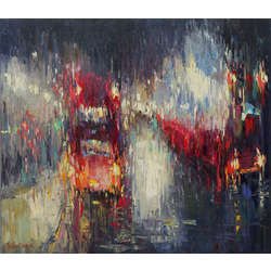 London midnight express from Music of the rain series