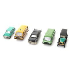 Automašīnu modelīšu komplekts (5 gab)