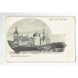 Rīgas 700 jubilejas pastkarte