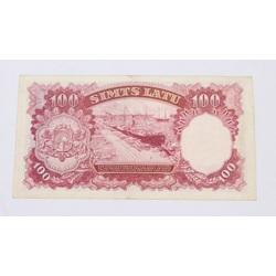 100 Latu naudas zīme, 1939. gads