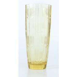 Dzeltenā stikla vāze