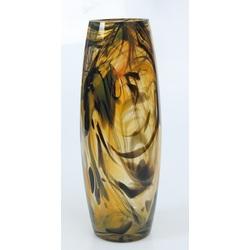 Krāsainā stikla vāze