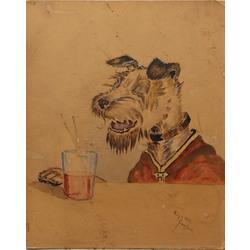 Suns ar glāzi