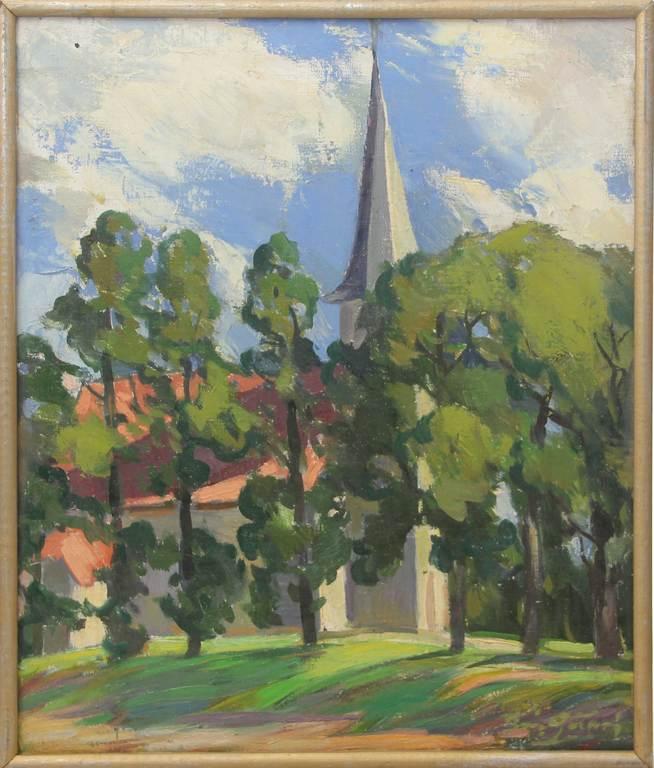 Baznīca Kurzemē