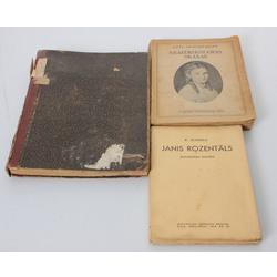 3 grāmatas - K.Lejneka