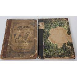 2 grāmatas - Lielais lopu ārsts, Konversācijas vārdnīca(25.burtnīca)