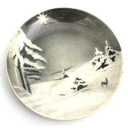 Декоративная фарфоровая тарелка