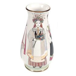 """Porcelāna vāze """"Līgavu parāde"""""""