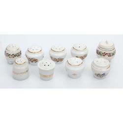 Porcelāna garšvielu trauciņi (9 gab.)