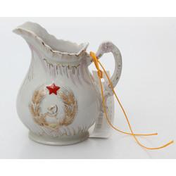Krējuma porcelāna trauks