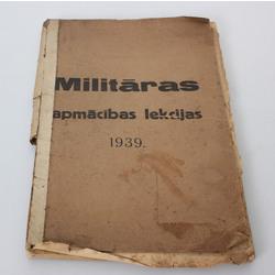 Miltārās apmācības lekcijas 1939