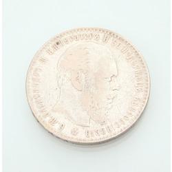 1 rubļa monēta 1886