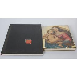 2 grāmatas - Дрезденскя галерея, Щедевры мировой живописи в музеях СССР
