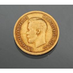10 rbl, Nikolajs II, 1899.g.