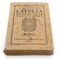 M.Skujenieks, Latvija(Zeme un iedzīvotāji)