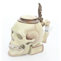 Porcelāna krūze-galvaskauss