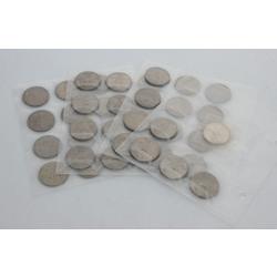 PSRS jubilejas 1 rubļu monētu kolekcija 40 gab.