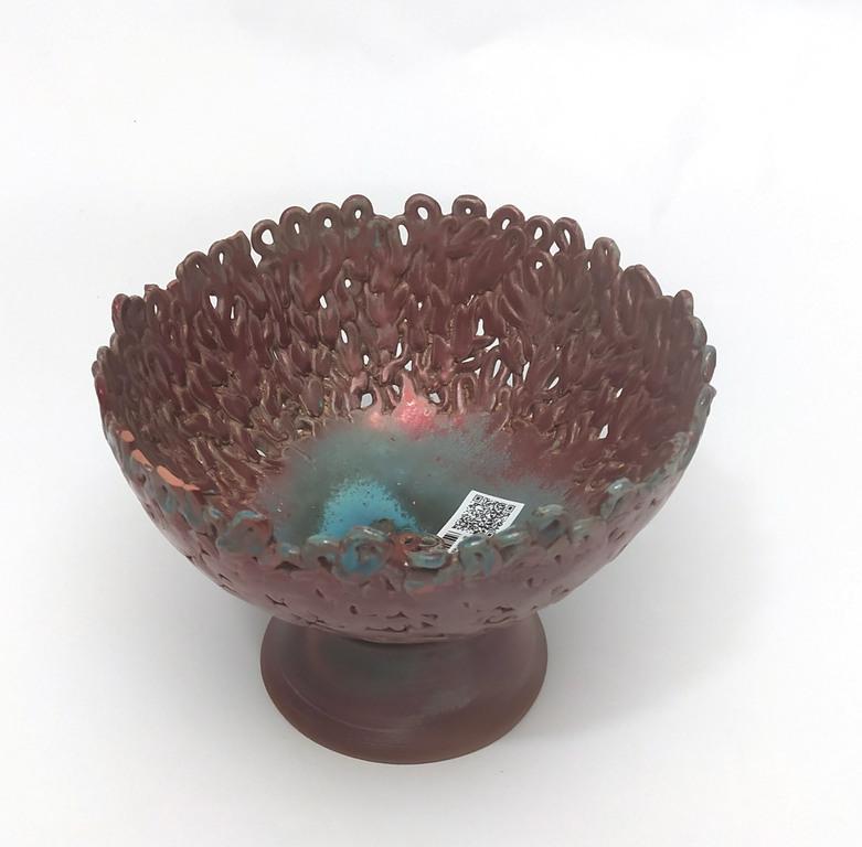Керамическая сервировочная тарелка