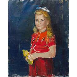 Jaunas meitenes portrets