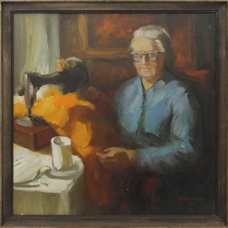 Portrait of a mother
