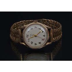 Zelta rokas pulkstenis