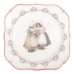 Porcelāna dekoratīvais šķīvis