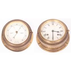 Pulkstenis un barometrs (pāris)