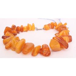 100% Natural Baltic amber brooch, 86 g