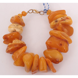 100% Natural Baltic amber brooch,24.49 g
