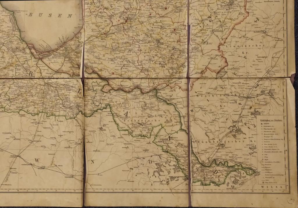 Livonijas un Kurzemes karte