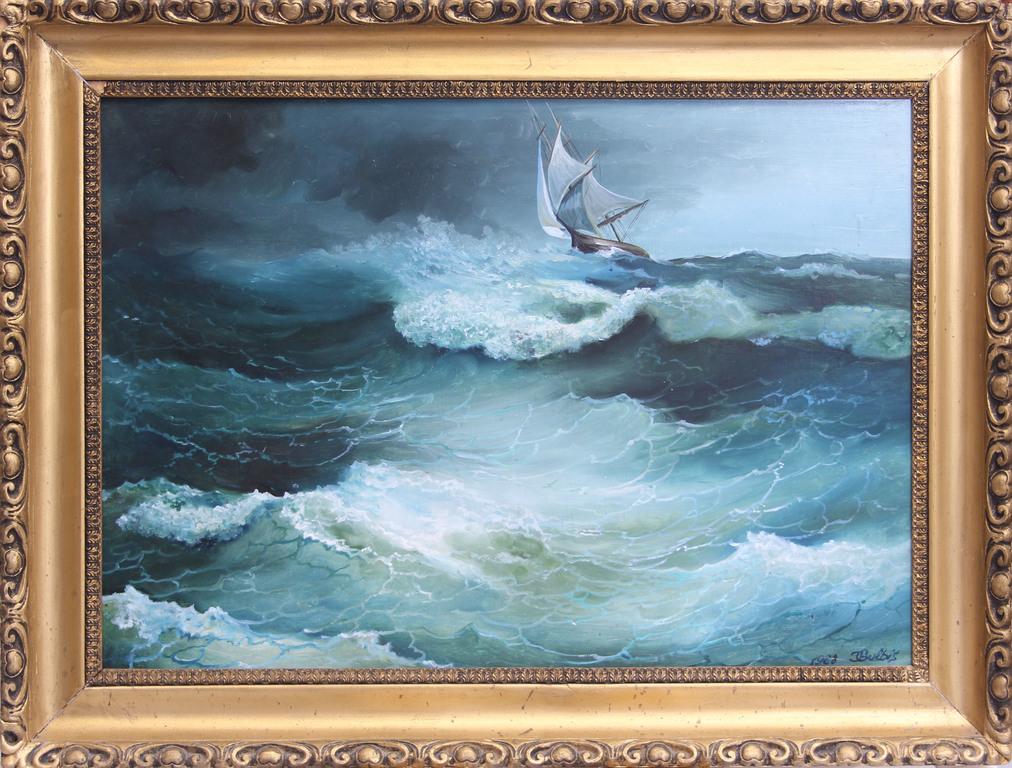 Kuģis vētrā