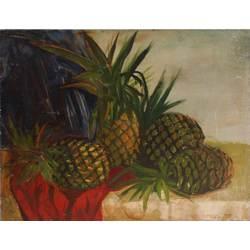 Klusā daba ar ananāsiem
