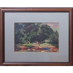 Koknese pēc Ubāna gleznas