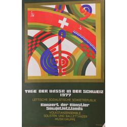 Divi plakāti vācu valodā