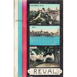 Pastkarte Reval (Tallina)