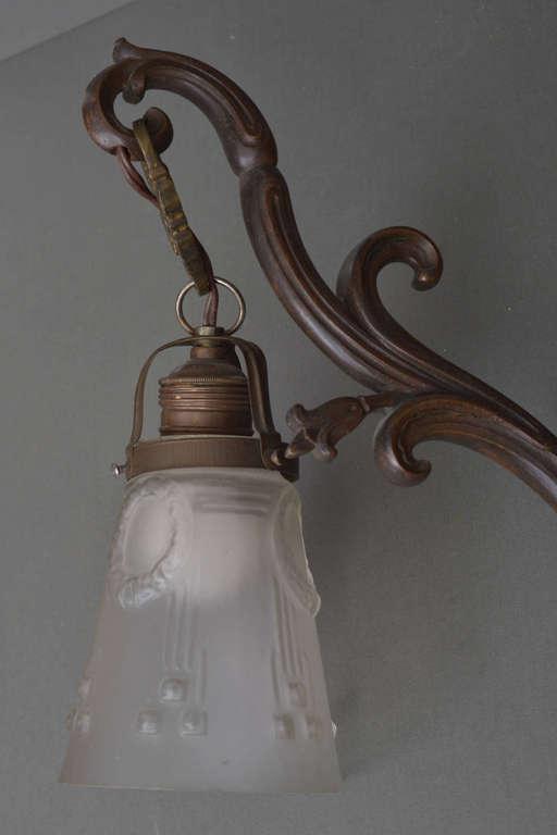 Art Nouveau wall bra