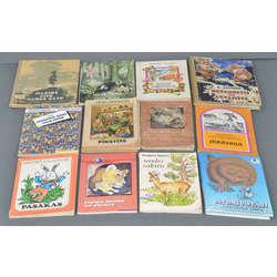 12 bērnu grāmatas